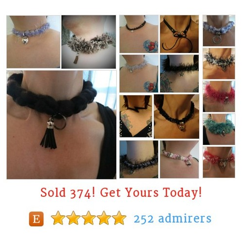 Sexy Chokers, Collars Etsy shop #etsy @sunshinefarmer2  #etsy #PromoteEtsy #PictureVideo @SharePicVideo