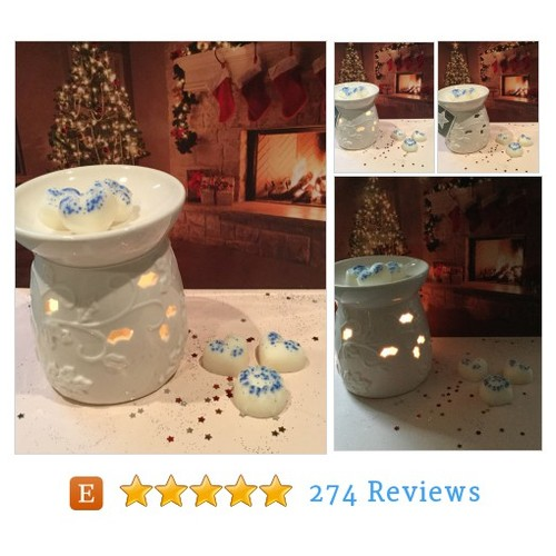 Wax Warmer/Oil Burner #etsy #PromoteEtsy #PictureVideo @SharePicVideo