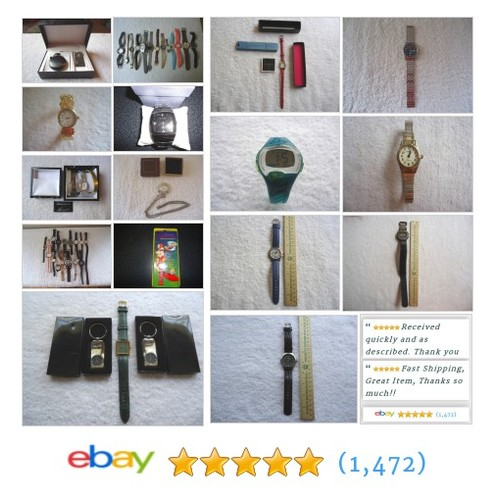 Watches in Foster Web Store ! #Watches #Collectibles #Vintage #Time #ebay #PromoteEbay #PictureVideo @SharePicVideo