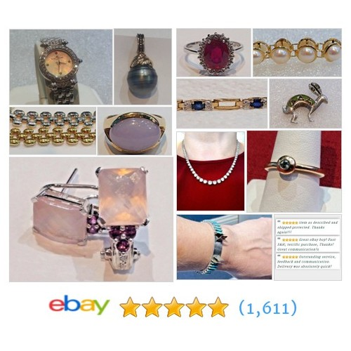 #Jewelry Items in Goldwiser Fine Jewelry store on #ebay! #sellonebay @IAmGinaOlson  #ebay #PromoteEbay #PictureVideo @SharePicVideo