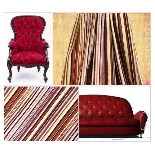 NEEDS PILLOWS   Stripe Velvet Fabric Pink and Yellow  Thick Pile Upholstery Luxury Velvet Stripe Home Decor Sewing Fabric - 1/2 yard  #etsyspecialt #integritytt #SpecialTGIF #Specialtoo  #TMTinsta      @Demented_RTs  @etsypro  @FameRTR #etsy #PromoteEtsy #PictureVideo @SharePicVideo