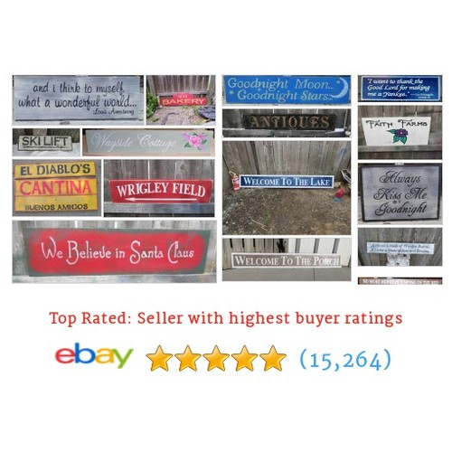 Hand Crafted Signs Great deals #sellonebay #ebay @mcclaindebby  #ebay #PromoteEbay #PictureVideo @SharePicVideo