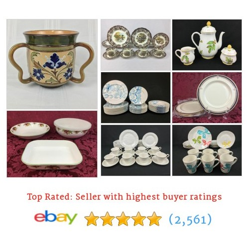 Dinnerware Items in St. Croix China and Crystal store #ebay @stcroixchina  #ebay #PromoteEbay #PictureVideo @SharePicVideo
