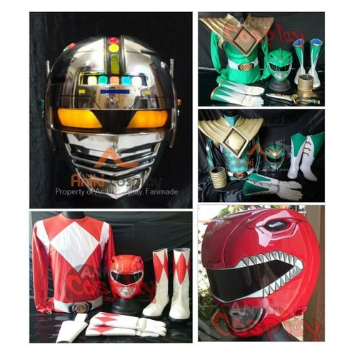 01 - MMPR Helmets @pcheckitout  #shopify #PromoteStore #PictureVideo @SharePicVideo