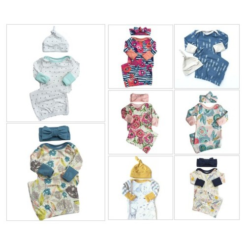 Baby Layette Gowns #shopify @oh_so_vera  #socialselling #PromoteStore #PictureVideo @SharePicVideo