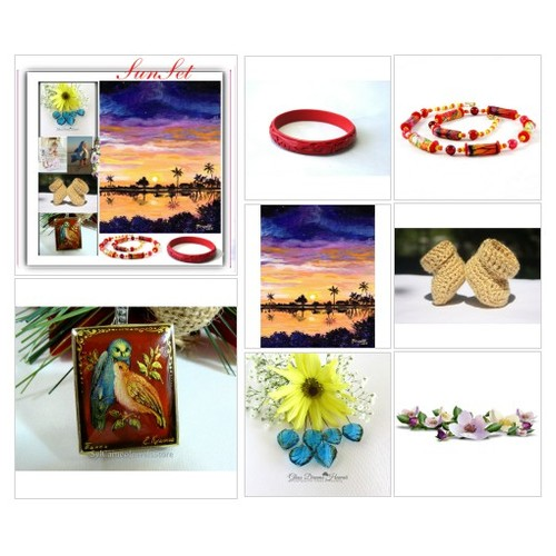 Sun-Set #home #fashion #EtsyTeamUnity #IntegrityTT #TIntegrityT #EtsySpecialT #polyvore #artcollage #art  #socialselling #PromoteStore #PictureVideo @SharePicVideo