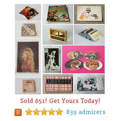 Vintage Books & Paper Etsy shop #etsy @leboulotdodo  #etsy #PromoteEtsy #PictureVideo @SharePicVideo