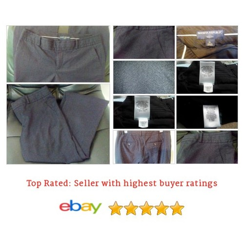 Banana Republic Pants Ryan Fit Size 8 | eBay #Pant #DressPant #BananaRepublic #etsy #PromoteEbay #PictureVideo @SharePicVideo