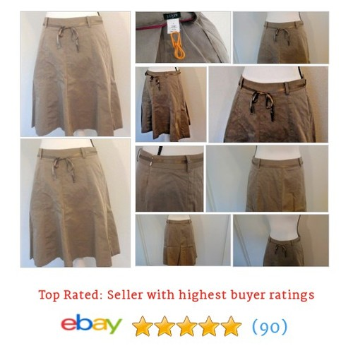 J. Crew Women's #Skirt A-Line Size 4 Beige Ribbon Sateen Shimmer Spring Lined Fun | eBay #JCrew #ALine #etsy #PromoteEbay #PictureVideo @SharePicVideo
