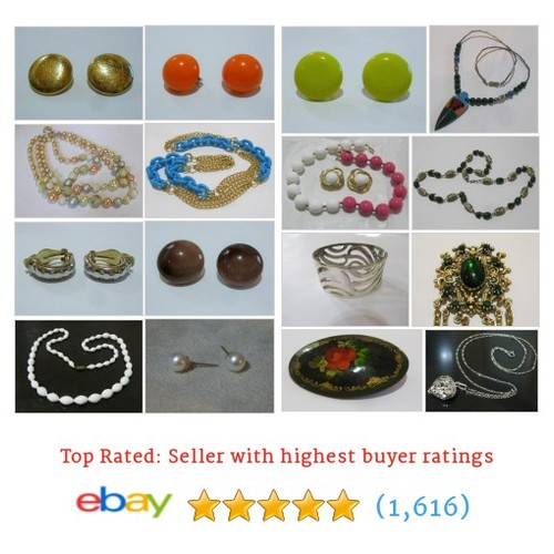 Vintage Jewelry Great deals from Barbs Classic Vintage #ebay @barbsclassicvtg  #ebay #PromoteEbay #PictureVideo @SharePicVideo