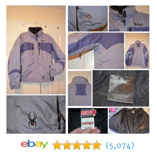 SPYDER Ladies Purple 2 in 1 Ski Coat Jacket Size 14 LN #ebay @cconsignments  #etsy #PromoteEbay #PictureVideo @SharePicVideo