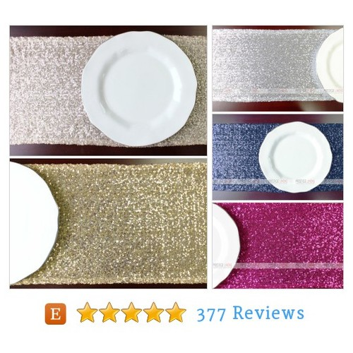 Set of 6 Sparkly Mesh Glitz Table Runners – #etsy @prestige_linens  #etsy #PromoteEtsy #PictureVideo @SharePicVideo