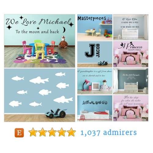 Children & Baby Decals - Custom Designed Inspirational Vinyl Wall Decals by INSPIRATIONWALLSIGNS Etsy shop #Child #BabyDecal #etsy #PromoteEtsy #PictureVideo @SharePicVideo