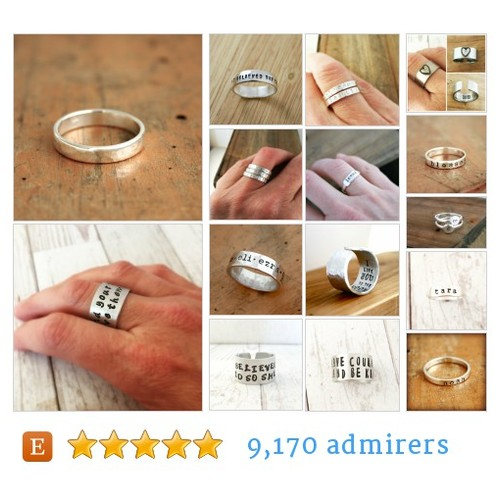 Personalized rings #etsy shop #personalizedring @justjaynes  #etsy #PromoteEtsy #PictureVideo @SharePicVideo