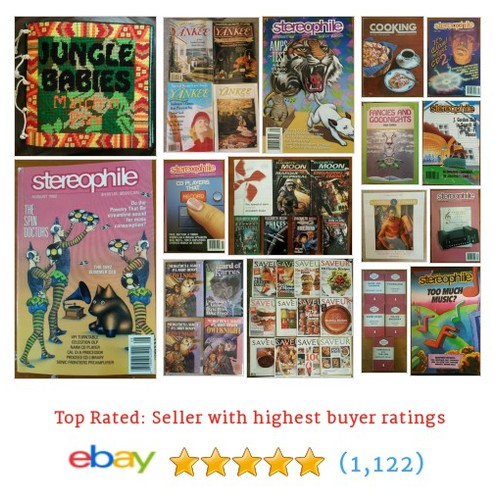 BOOKS & MAGAZINES Great deals #sellonebay #ebay @deals4youhere  #ebay #PromoteEbay #PictureVideo @SharePicVideo