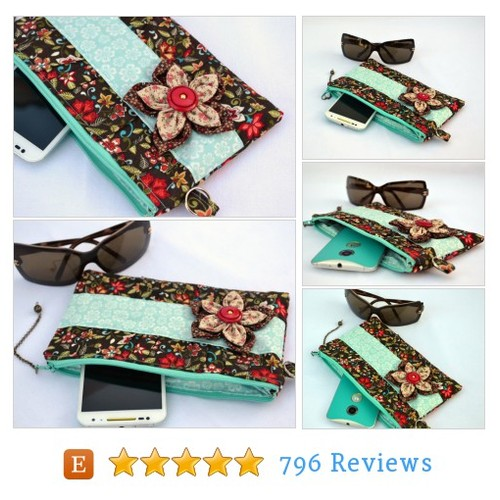 Autumn flower #clutch purse, bridal clutch, #etsy @valkinthreads  #etsy #PromoteEtsy #PictureVideo @SharePicVideo