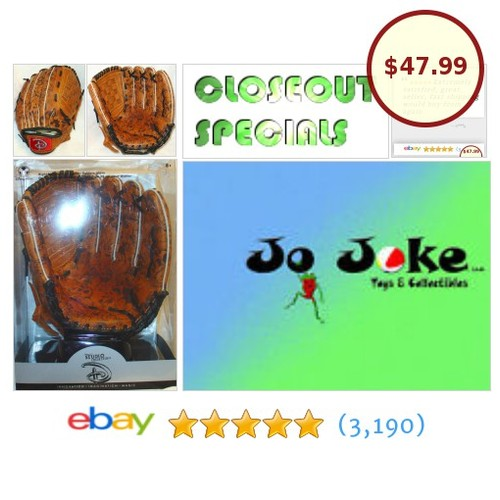 DISNEY-RIGHT HANDED FIELDERS LEATHER GLOVE-NEW-UNIQUE~! | eBay #DISNEYSTUDIOCOLLECTION #etsy #PromoteEbay #PictureVideo @SharePicVideo