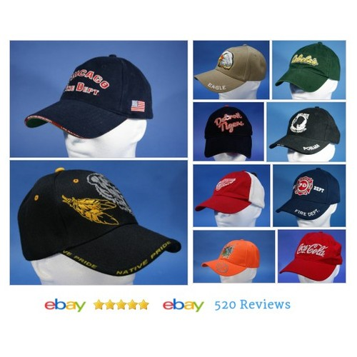 Lots of #hats available in J&J's Clothing Gifts & Collectibles store on eBay! #Hat #ebay #PromoteEbay #PictureVideo @SharePicVideo