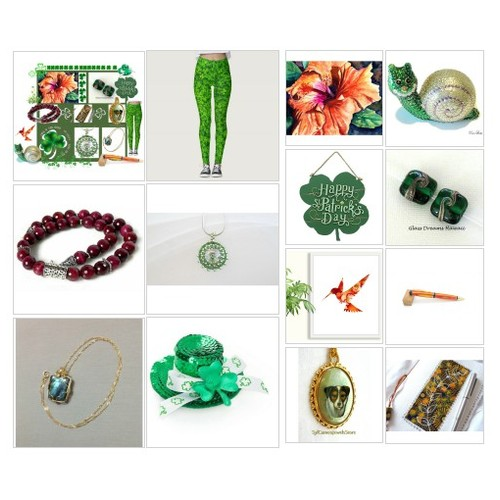 Shamrock Gifts #EtsySpecialT #integrityTT #TintegrityT #polyvorefashion #artcollage  #socialselling #PromoteStore #PictureVideo @SharePicVideo