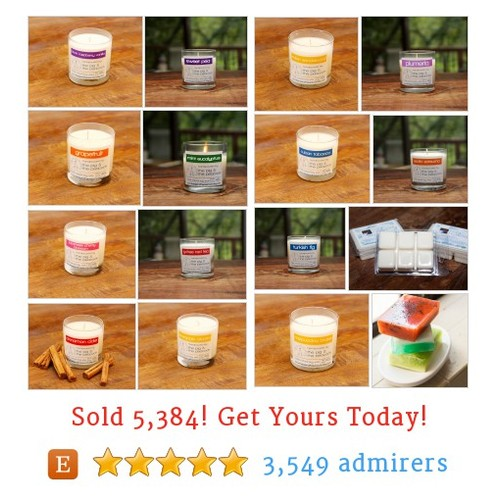 Soy Candles and Tarts Etsy shop #etsy @pigandpeacock  #etsy #PromoteEtsy #PictureVideo @SharePicVideo
