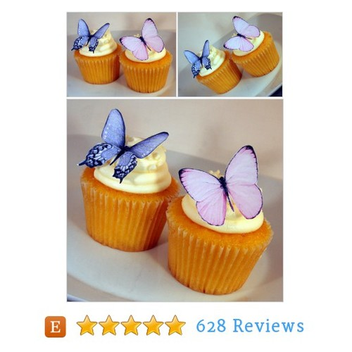 Edible Butterflies Wedding Cake Topper, #etsy @smashcandies  #etsy #PromoteEtsy #PictureVideo @SharePicVideo