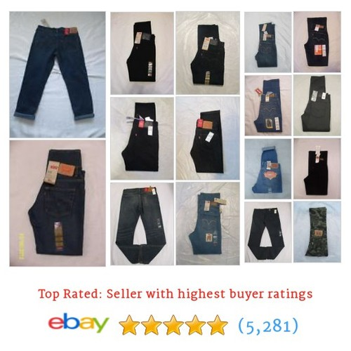 Levi's Great deals from LucysFashionFinds #ebay @lucysfashionfin  #ebay #PromoteEbay #PictureVideo @SharePicVideo