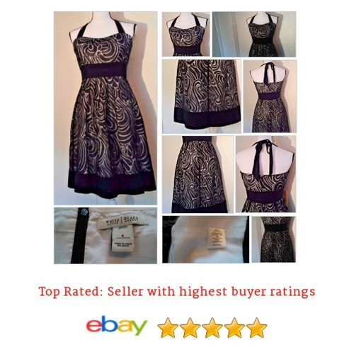 White House Black Market Women's #Dress Size 6 Formal Multi-Color Halter Spring | eBay #Halter #WomensClothing #etsy #PromoteEbay #PictureVideo @SharePicVideo