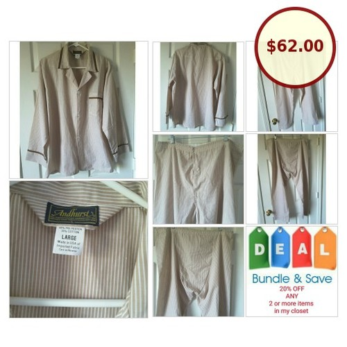 Vintage Mens Andhurst Mad Men Style Pajamas @kimberleysprowl https://www.SharePicVideo.com/?ref=PostPicVideoToTwitter-kimberleysprowl #socialselling #PromoteStore #PictureVideo @SharePicVideo
