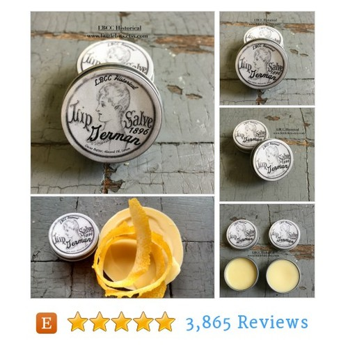 1896 German Lip Salve Victorian Lemon #lip #etsy @lbcc_historical  #etsy #PromoteEtsy #PictureVideo @SharePicVideo