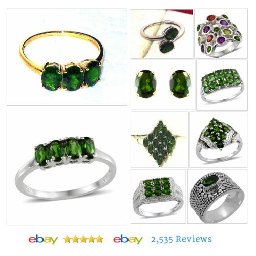RUSSIAN CHROME DIOPSIDE Items in JEWELRY AND GIFTS BY ALICE AND ANN store on eBay!  #ebay #PromoteEbay #PictureVideo @SharePicVideo