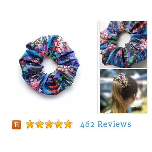 MIDSUMMER DREAM 3. Large Scrunchy with #etsy @kaukacmurgs  #etsy #PromoteEtsy #PictureVideo @SharePicVideo