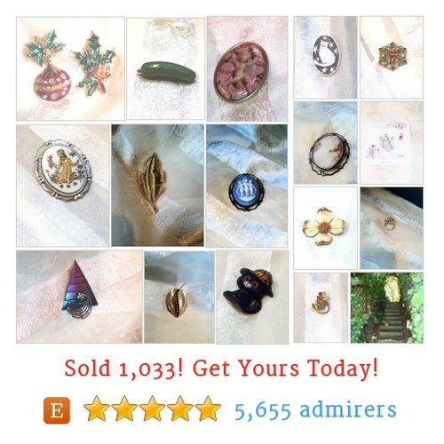 Brooches and Pins Etsy shop #etsy @morninglaurie  #etsy #PromoteEtsy #PictureVideo @SharePicVideo