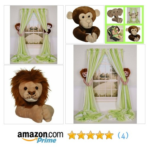 Curtain Critters ALLNMK250510COL Plush @erinsplayroom https://www.SharePicVideo.com/?ref=PostPicVideoToTwitter-erinsplayroom #socialselling #PromoteStore #PictureVideo @SharePicVideo