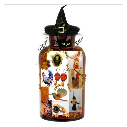 Special Witches Brew #etsyspeciaT #integritytt #TintegrityT sylvia-cameojewels.polyvore.com  #socialselling #PromoteStore #PictureVideo @SharePicVideo