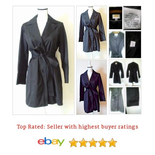 #Talbots Women's Size M #Medium Petite #Coat #Trench  Long Dressy #Talbot #etsy #PromoteEbay #PictureVideo @SharePicVideo