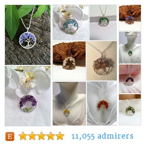 Petite Tree Pendants by Just4FunDesign #etsy shop @designsjust4fun  #etsy #PromoteEtsy #PictureVideo @SharePicVideo