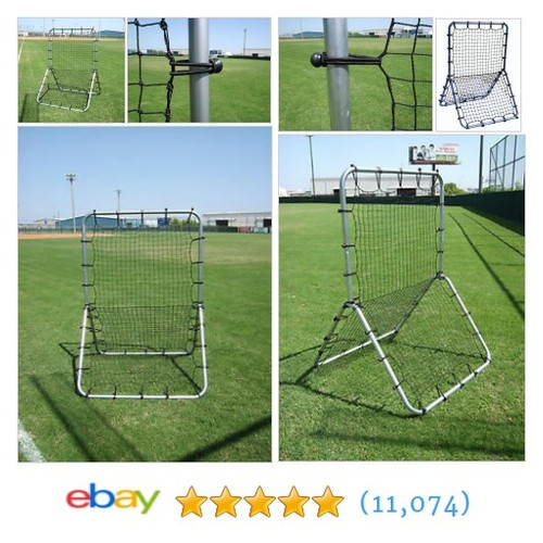 Baseball Pitch Back Rebounder Deluxe Heavy Duty Ball Practice Trainer #ebay @baseballdirect  #etsy #PromoteEbay #PictureVideo @SharePicVideo
