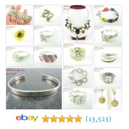 Sterling Silver Jewelry Great deals from 8th St Sinai Jewelry #ebay @8thstjewelry  #ebay #PromoteEbay #PictureVideo @SharePicVideo