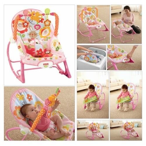 Fisher-Price Infant To Toddler Rocker, Bunny - Every Thing Baby #socialselling #PromoteStore #PictureVideo @SharePicVideo