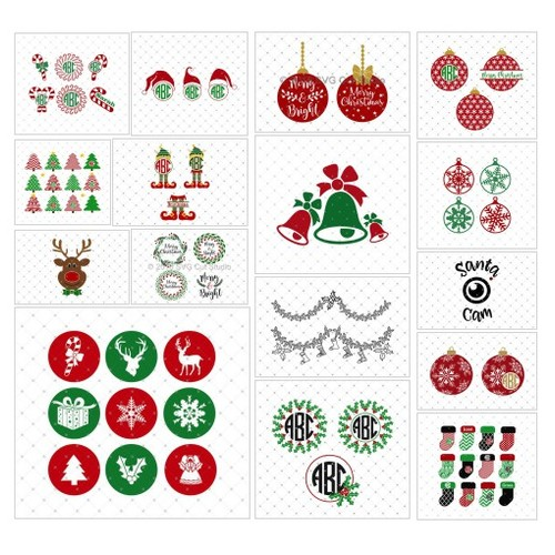 Christmas SVG cut files @svgcutstudio  #socialselling #PromoteStore #PictureVideo @SharePicVideo