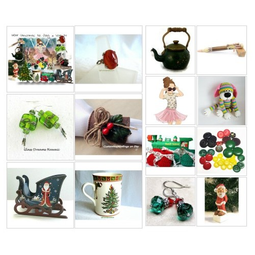 Wow! Christmas In July ~ Love It! #Polyvore #etsy #EtsyShops #SpecialTs #IntegrityTT #Jewelry #Art #Fashion  #socialselling #PromoteStore #PictureVideo @SharePicVideo