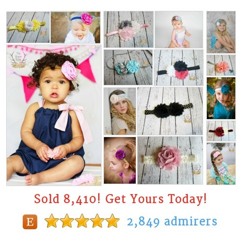 HEADBANDS & BOWS Etsy shop #bow #headband #etsy @theroguebaby  #etsy #PromoteEtsy #PictureVideo @SharePicVideo