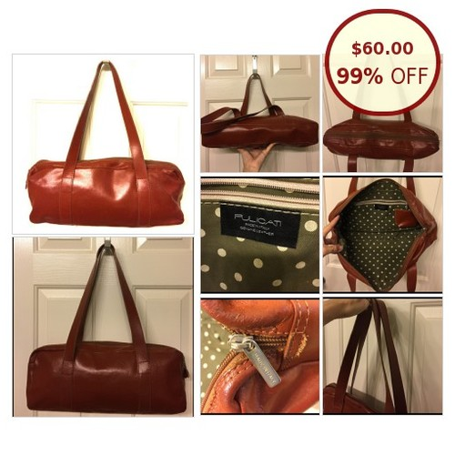 PULICATI brown leather vintage bag @mizfabulousity1 https://www.SharePicVideo.com/?ref=PostPicVideoToTwitter-mizfabulousity1 #socialselling #PromoteStore #PictureVideo @SharePicVideo