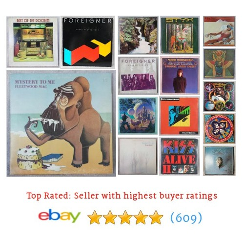 Vinyl Records Great deals from The Treasure Trail #ebay @dragonsloot  #ebay #PromoteEbay #PictureVideo @SharePicVideo