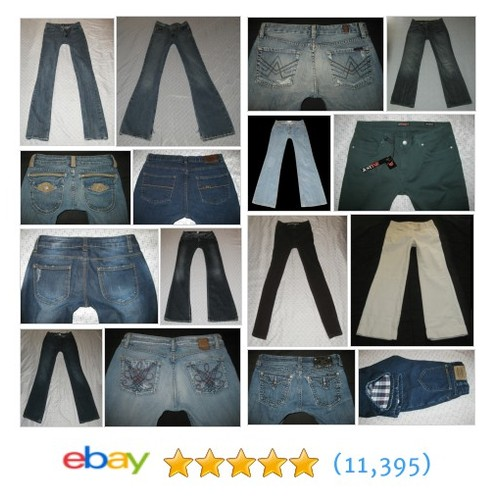 Womens Jeans Great deals from PAIGE COVERDALE INC #ebay @bobtolin  #ebay #PromoteEbay #PictureVideo @SharePicVideo