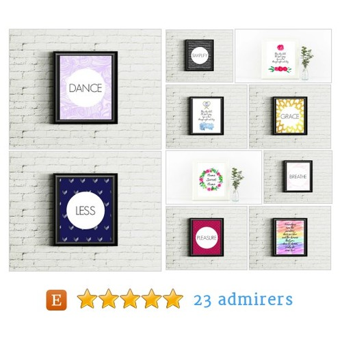 Practical Printables + Digital Art by InkyBitsPrints Etsy shop @inkybitsdesigns #etsy #PromoteEtsy #PictureVideo @SharePicVideo