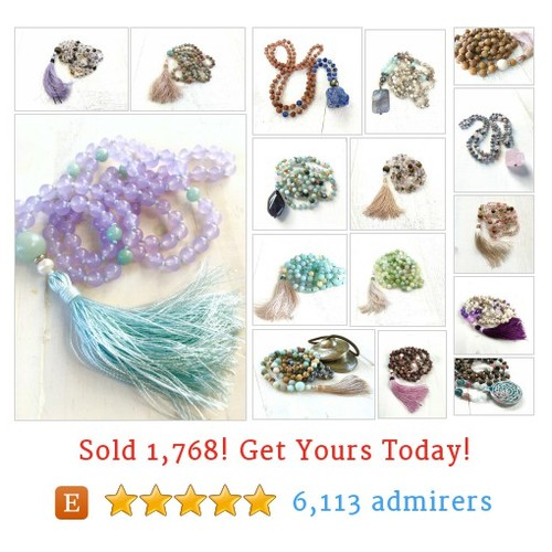 108 Bead Mala - 6mm size Etsy shop #etsy @jewelrytrue  #etsy #PromoteEtsy #PictureVideo @SharePicVideo
