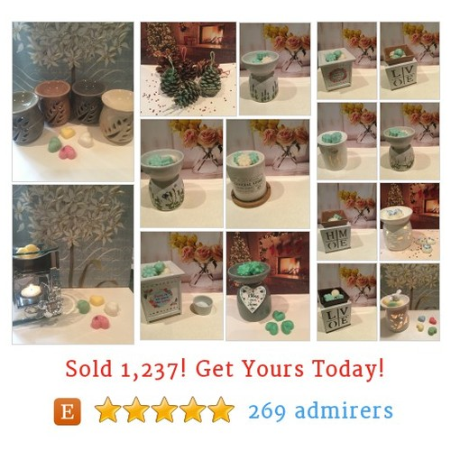 Wax Warmers/Oil Burners Etsy shop #etsy #PromoteEtsy #PictureVideo @SharePicVideo
