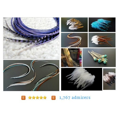 #All from Hair Feather Extensions Craft Feathers Hair Accessories by solsfeathersupply Etsy shop  #etsy #PromoteEtsy #PictureVideo @SharePicVideo