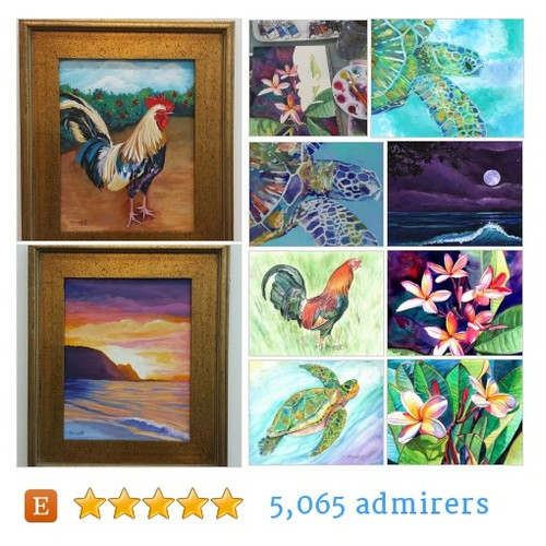 Kauai Fine Art Originals and Prints #artlover #bestofetsy #etsyspecialt @EtsyRT @EarthRT #etsy #PromoteEtsy #PictureVideo @SharePicVideo